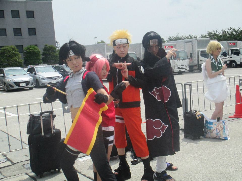 cosplay america vs japan