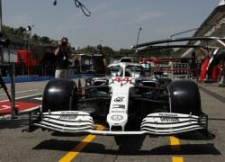 Sonderlackierung für den Deutschland GP bei Mercedes