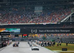 Enttäuschendes Heimrennen für Mercedes-AMG Petronas Motorsport