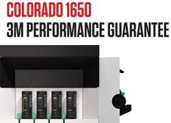 Leistungsgarantie: Canon Colorado 1650 und UVgel Tinte von 3M  zertifiziert