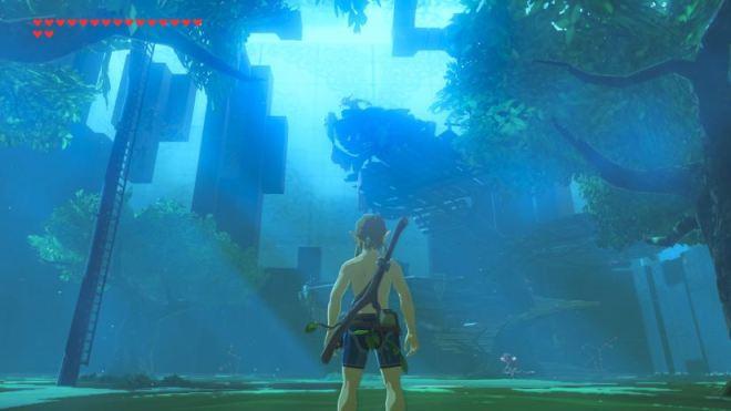 Zelda - The Breath of the Wild - Prüfung des Schwertes