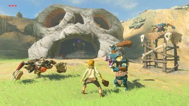 Zelda - The Breath of the Wild - Schwerer Modus