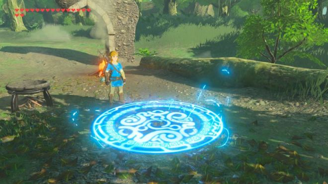 Zelda - Breath of the Wild - Teleport-Medaillon