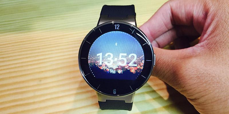 Alcatel Watch - Hlavní obrazovka (ciferník)