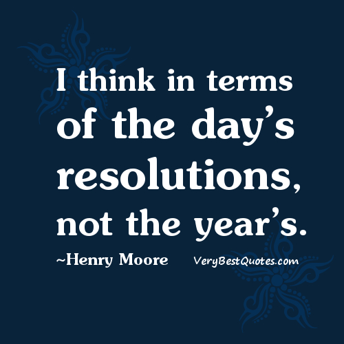 new year's resolution quote