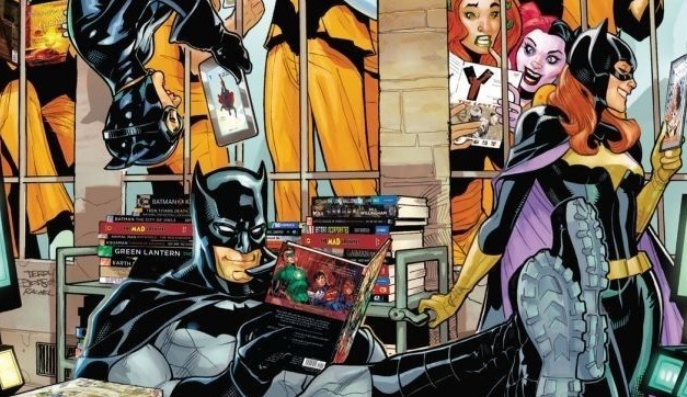 Batman Catwoman Batgirl comic books