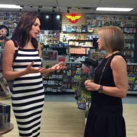 Midtown Comics Wonder Woman Gal Gadot Katie Couric 1