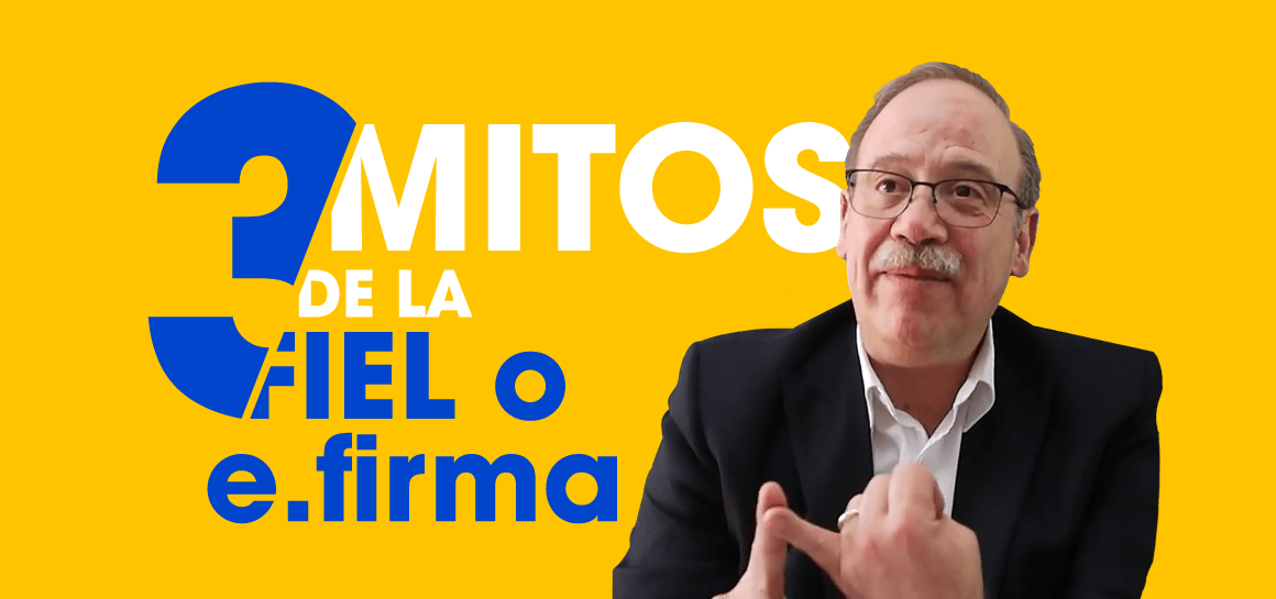 Con ayuda del Dr. Alfredo Reyes Krafft, experto en firmas digitales en México, desmentimos los mitos más comunes sobre la firma electrónica avanzada.