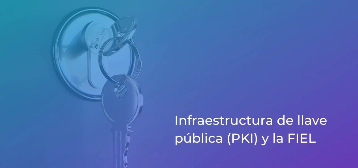 La PKI o infraestructura de llave pública permite el correcto funcionamiento de la FIEL o e.firma y de las plataformas de firma electrónica avanzada en México.
