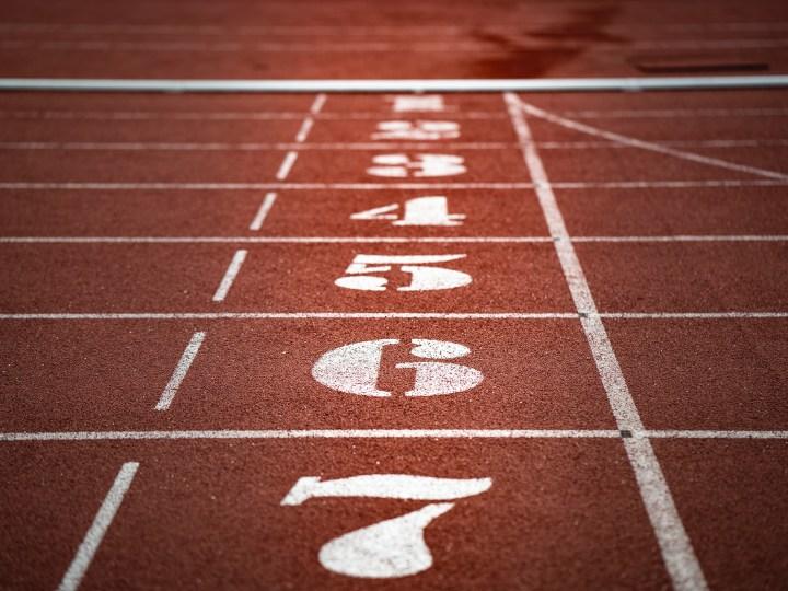photo of running track