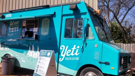 Yeti Frozen Custard truck
