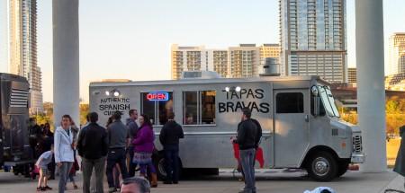 Trailer Food Tuesdays tapas bravas truck