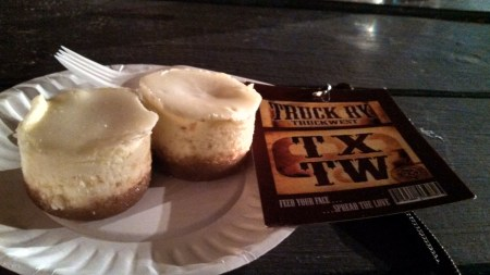 Celia Jacobs Cheesecake Experience NY Cheesecake Bite