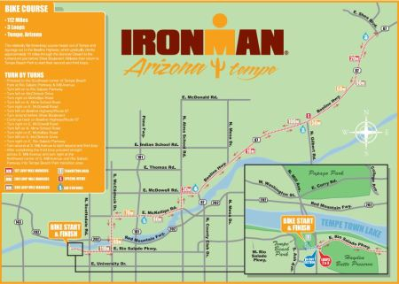 IMAZ bike course