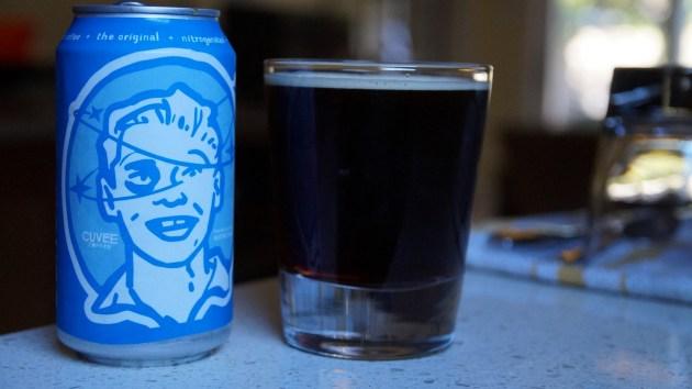 Black & Blue poured