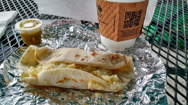 Joe's Bakery Breakfast Taco