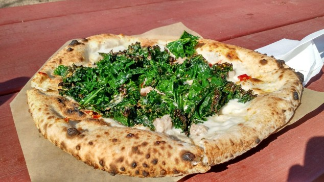 40 North Kale Pizza side