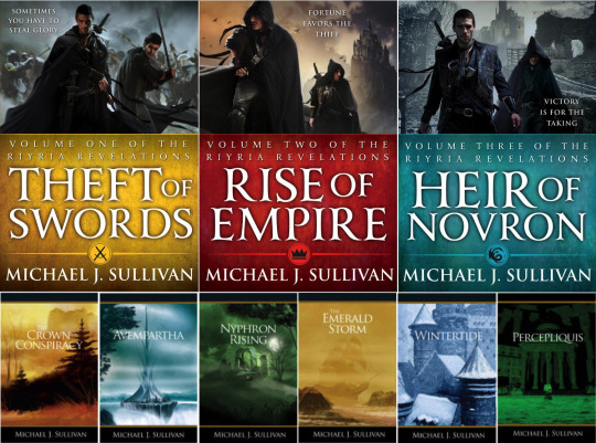 The Riyria Revelations series by Michael J. Sullivan