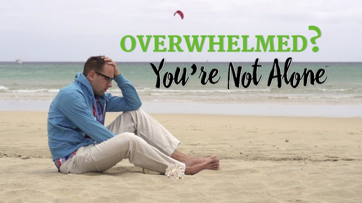 Overwhelmed? You're Not Alone – YouTube