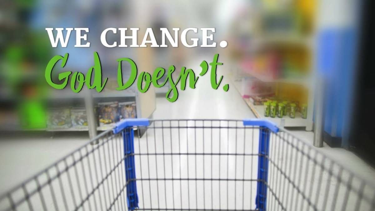 We Change. God Doesn't. – YouTube