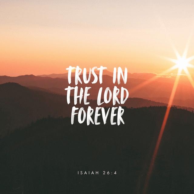 Isaiah 26:4 NKJV