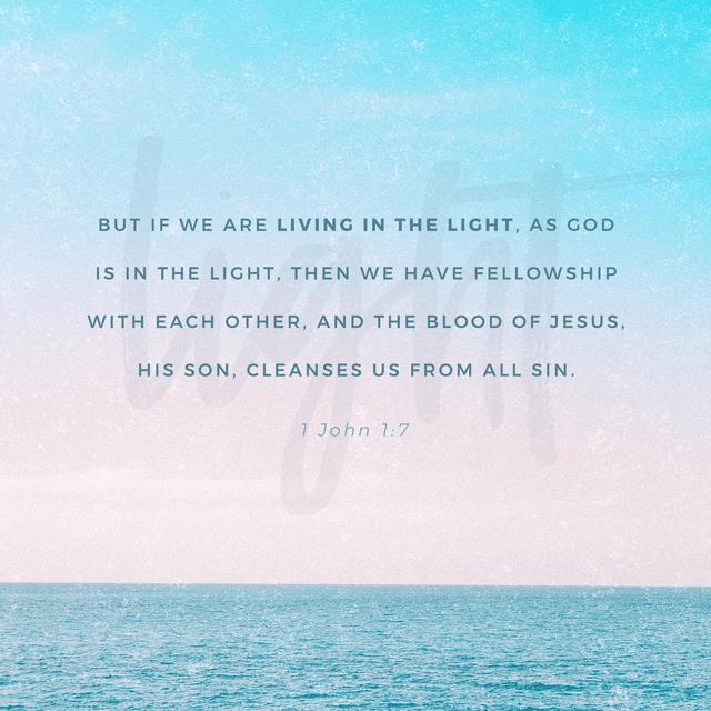 1 John 1:7 NLT