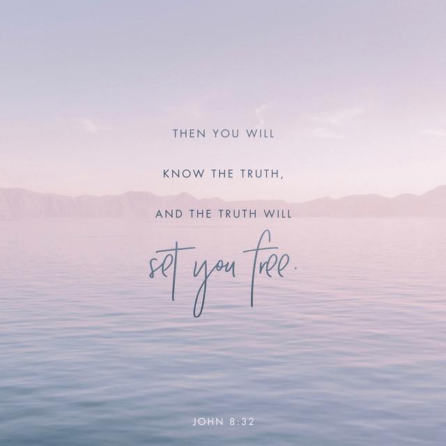 John 8:32 NIV