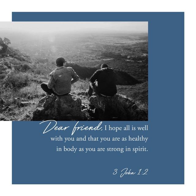 3 John 1:2 NLT