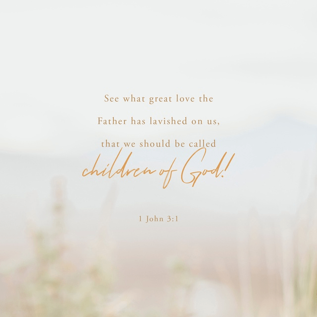 1 John 3:1 NIV