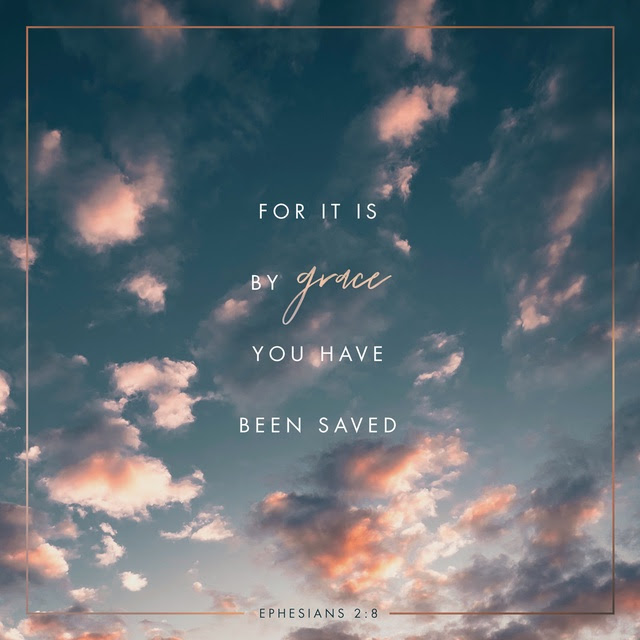 Ephesians 2:8-9 NIV