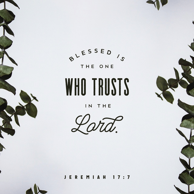 Jeremiah 17:7 NIV