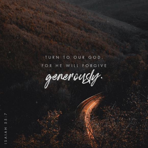 Isaiah 55:6-7 NLT