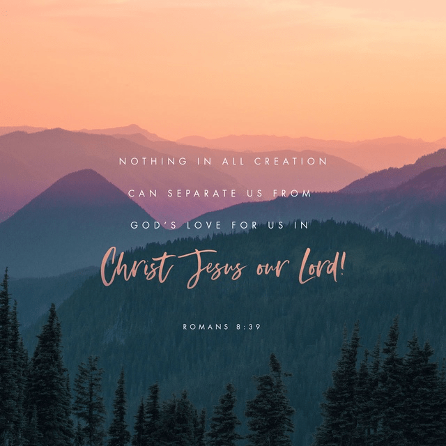 Romans 8:39 CEV