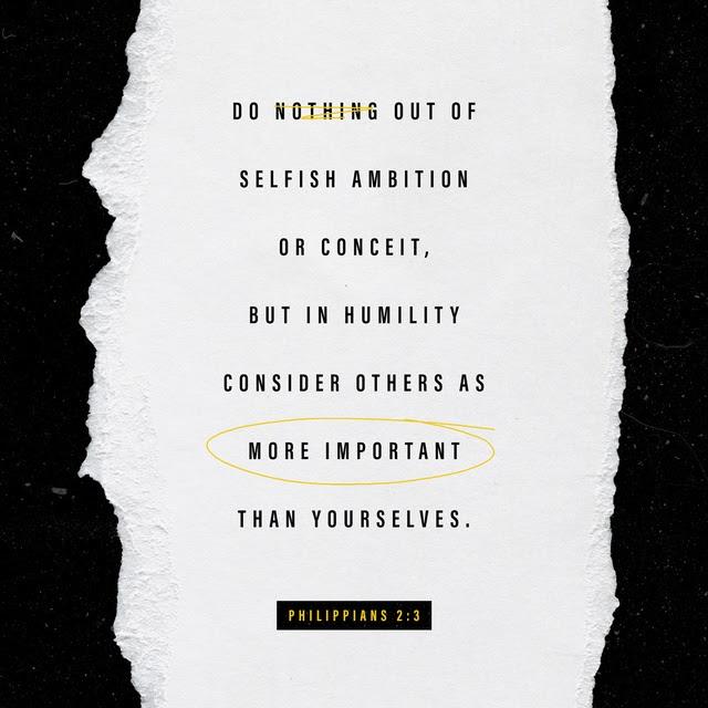 Philippians 2:3 CSB