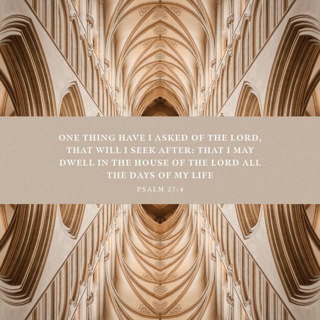 Psalms 27:4 ESV