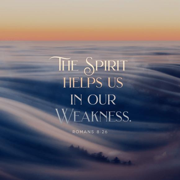Romans 8:26 ESV