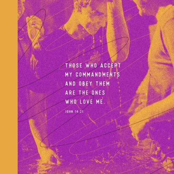 John 14:21 NLT
