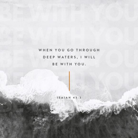 Isaiah 43:2 NLT