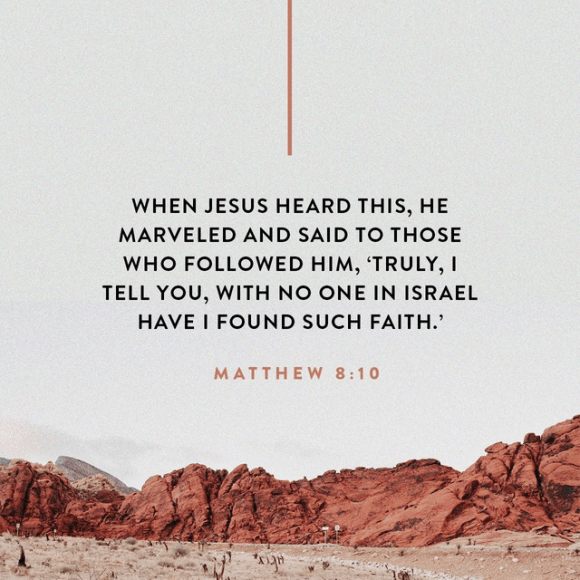 Matthew 8:10 ESV