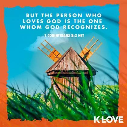 1 Corinthians 8:3 NLT