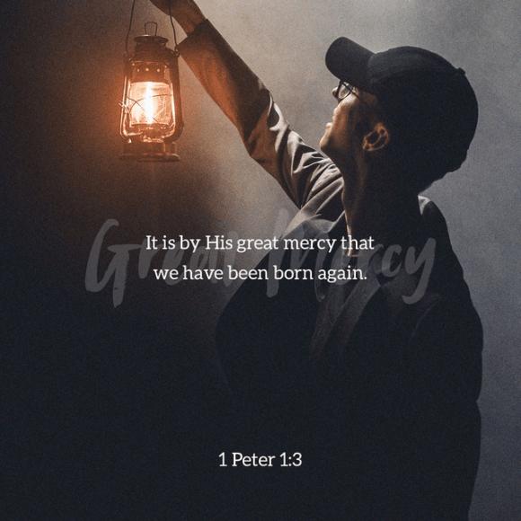 1 Peter 1:3 NLT