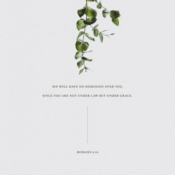 Romans 6:14 ESV