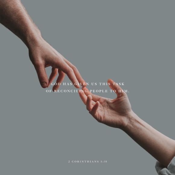 2 Corinthians 5:18 NIV