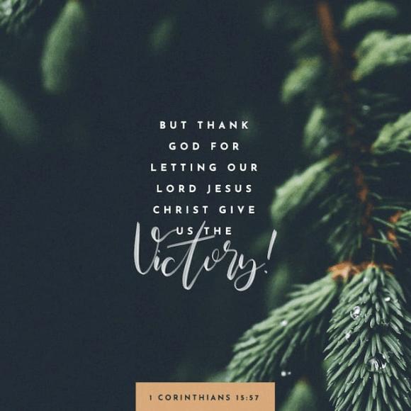 1 Corinthians 15:57 CEV