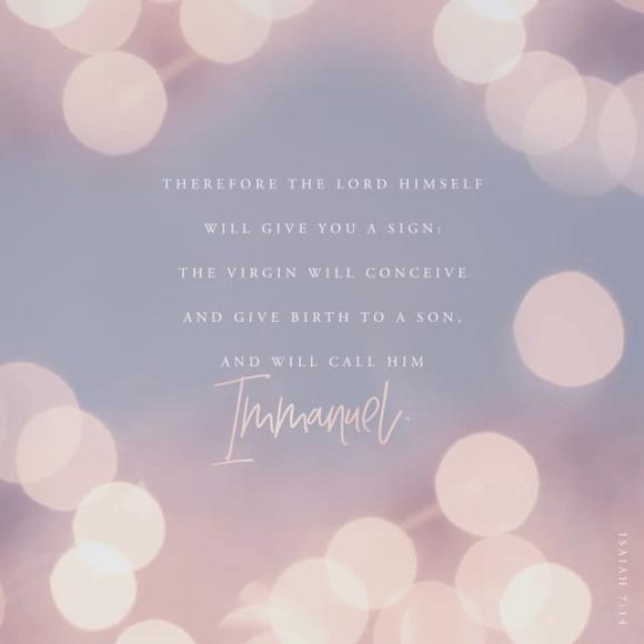 Isaiah 7:14 NIV