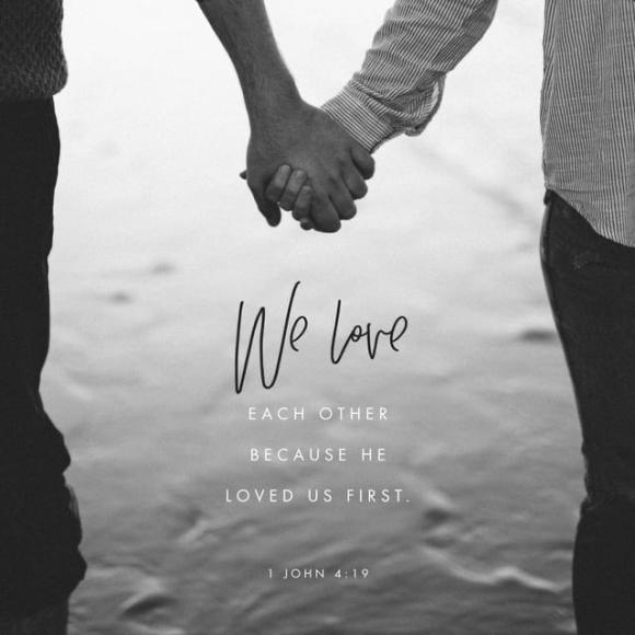 1 John 4:19 NLT