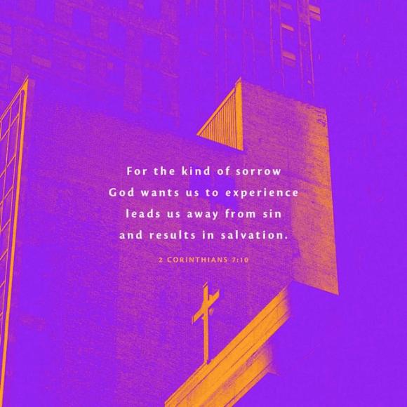 2 Corinthians 7:10 NLT