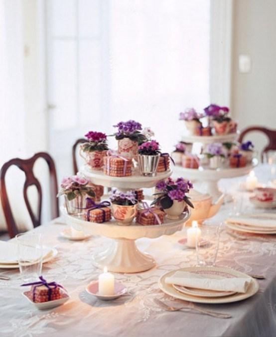 8 idee de decoration de table pour la fete des meres 7 jpg