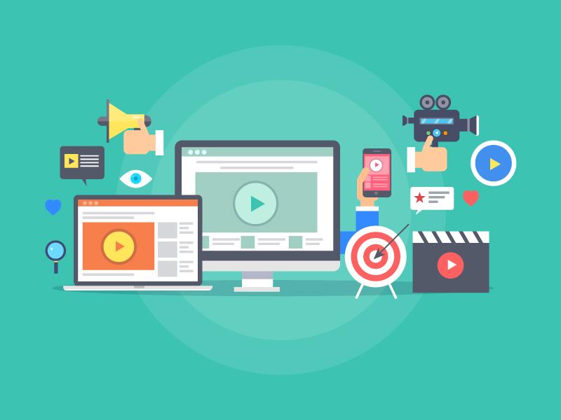 Graphic depicting video tools