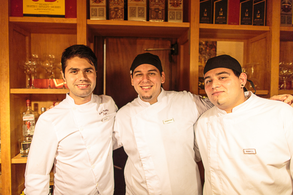 The team of chefs.